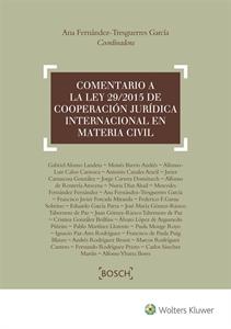 Comentario a la Ley 29/2015, de Cooperación Jurídica Internacional en Materia Civil-0