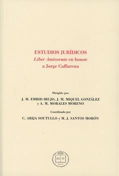 Estudios Jurídicos Liber Amicorum en Honor a Jorge Caffarena-0