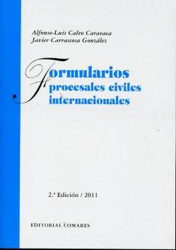 Formularios Procesales Civiles Internacionales 2011 -0