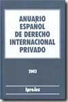 Anuario Español de Derecho Internacional Privado 2001 Tomo I-0
