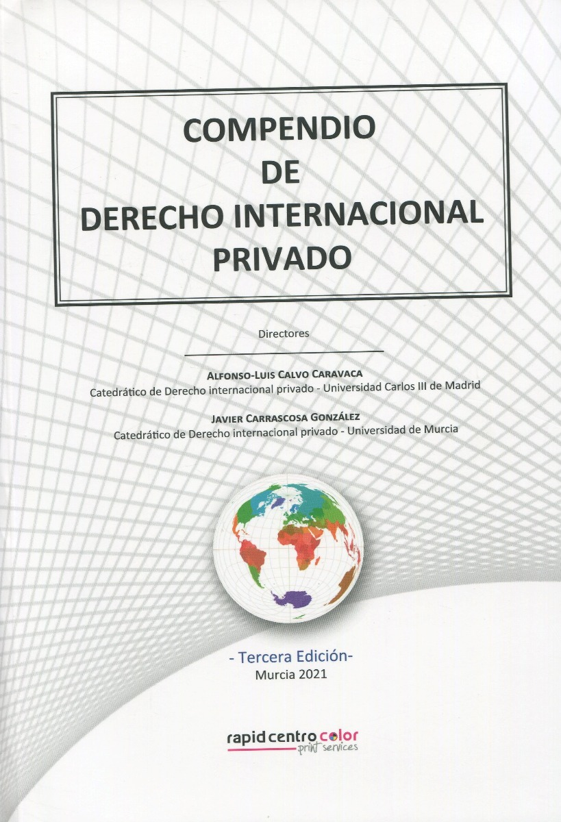 Compendio de derecho internacional privado 2021 -0